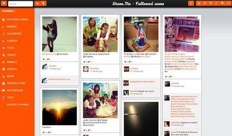 Share.me, visualiza Instagram bajo apariencia similar a Pinterest | Pedalogica: educación y TIC | Scoop.it