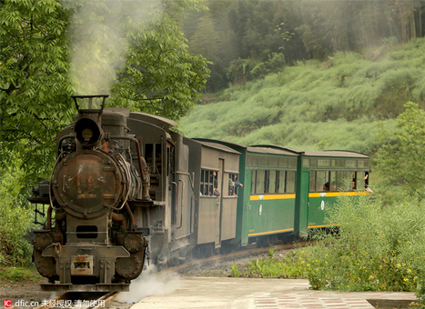 Time-tripping steam train in SW China   News from nowhere   Scoop.it