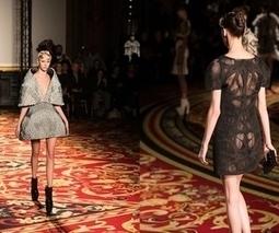 3D-printed dresses make it onto Paris Fashion Week catwalk | Mode, textile et 3D | Scoop.it
