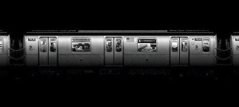 Une scène dans le métro japonais digne du film Matrix | Art contemporain et histoire de l'art | Scoop.it