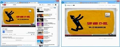 ViewPure: Youtube-filmpjes bekijken zonder reclames en overbodige toevoegingen. | Nieuwsbrief H. van Schie | Scoop.it
