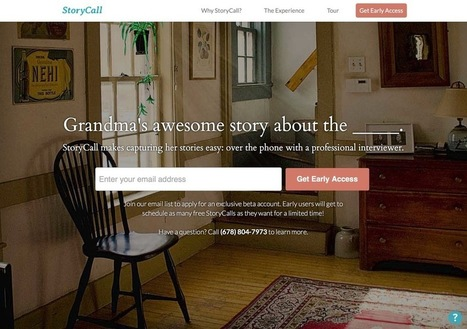 Startup Spotlight: StoryCall   Startups and Entrepreneurs   Scoop.it