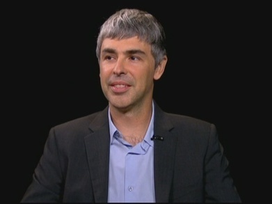 Charlie Rose - Larry Page, Founder & CEO, Google | ZipMinis: Science of Blogging | Scoop.it