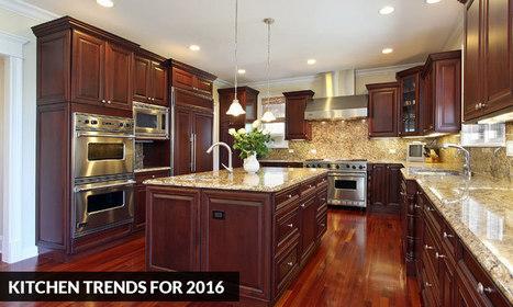 Kitchen Trends for 2016 | Kitchen Solvers Franchise | Home Improvement Franchise | Scoop.it