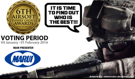 Nominate/Vote for Airsoft Showoffs .The 6th Airsoft Players' Choice Awards . #airsoft #awards #vote | Airsoft Showoffs | Scoop.it