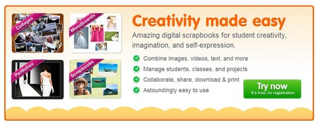 Digital scrapbooks for student creativity, self-expression, and imagination - Beeclip EDU | Technology in Art And Education | Scoop.it
