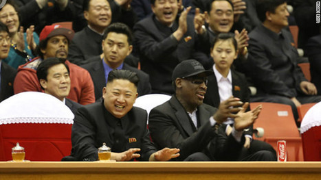 In North Korea, Dennis Rodman fouls out | Gov and Law Skinny Current events | Scoop.it