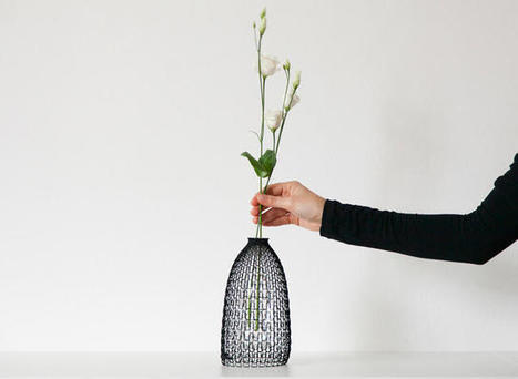 These 3-D Printed Vases Give Plastic Bottles A Second Life | Creative Innovation | Scoop.it