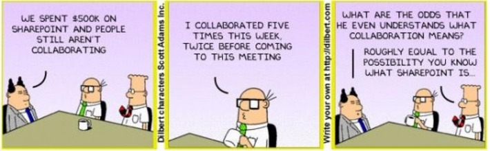 The Future of Work is NOT About Replacing Sharepoint and Email   Collaborationweb   Scoop.it