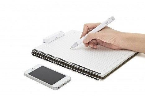 Mobilize Your Written Notes With the Equil JOT Smartpen | Gadget Lab | Wired.com | Integrated Commmunication in Healthcare | Scoop.it