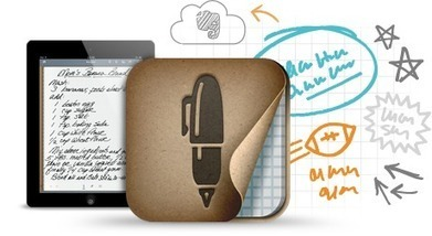 Penultimate | Evernote | iPad Training Material | Scoop.it