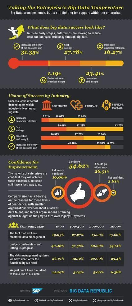 Infographic: How Ready Is the Enterprise to Leverage Big Data? - Saul Sherry | Big Data Republic | BigData | Scoop.it