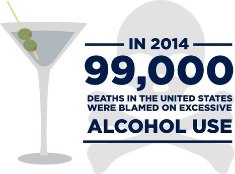 Why Are People with Alcohol Use Disorder More Likely to Die Young? - Talbott Recovery | health care &  health politics & infographics | Scoop.it