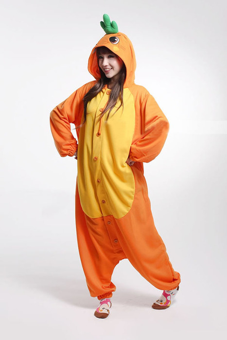 Orange carrots adult onesies, cheap onesies | adult onesies sale-pajama.com | Scoop.it