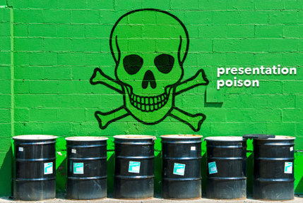 Presentation Poison! The 3 Most Dreaded Phrases Ever Heard in a Presentation | Strategic Meeting and Event Management | Scoop.it