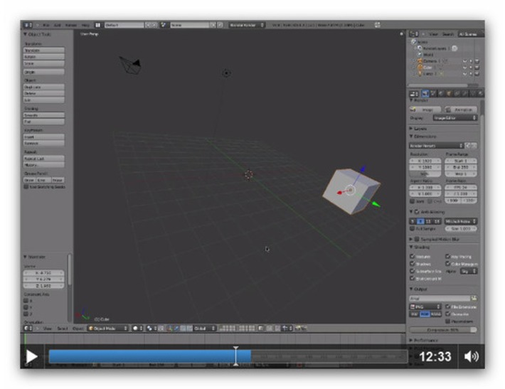 WeisbrodImaging : Animation » Blog Archive » Getting to Know Blender 3D | Machinimania | Scoop.it