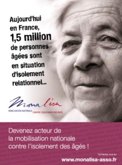 Monalisa : mobilisation nationale contre l'isolement des aînés | Seniors | Scoop.it