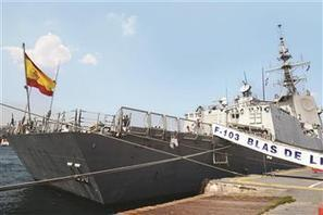 NATO's two frigates drop anchor in Istanbul shores - Hurriyet Daily News   Naval defense and marine energies   Scoop.it