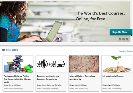 Coursera - New online courses for free | Virology and Bioinformatics from Virology.ca | Scoop.it