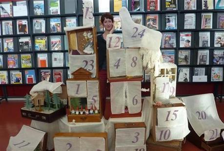 Exposition Un calendrier de l'avent peu ordinaire à la bibliothèque - Le Pays BHM | Action culturelle en bibliothèque | Scoop.it