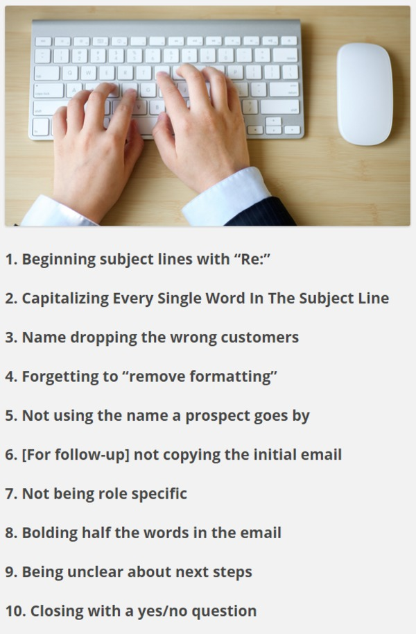 10 Simple Mistakes Sales Development Reps Make When Emailing Prospects | Datanyze Blog | The Marketing Technology Alert | Scoop.it