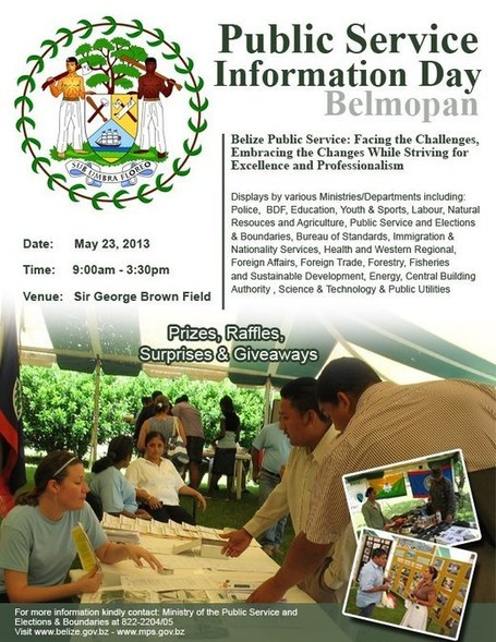 Belmopan Public Service Information Day | Cayo Scoop!  Bestofcayo.com's E-mag. | Scoop.it