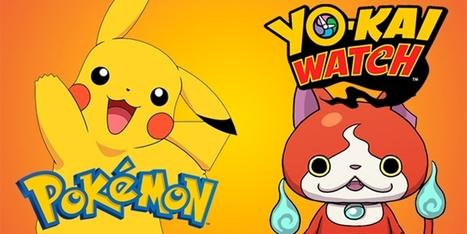 Pokémon vs Yo-Kai: qui gagne le match? | La Boîte à Bazar d'A3CV | Scoop.it