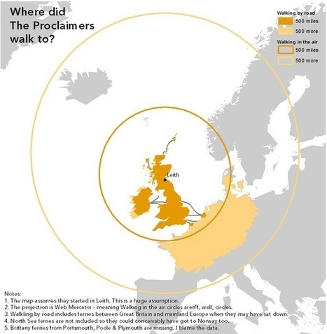 The Corrected Geography of the Proclaimers' '500 Miles' | Dr. Cash's APHG | Scoop.it