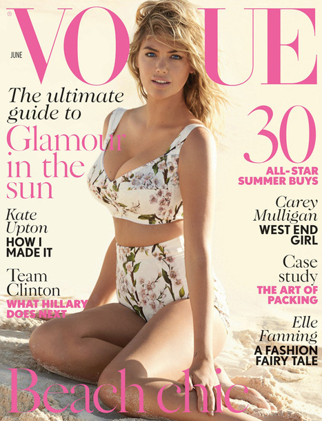 Kate Upton : Featuring on the cover of British Vogue's June 2014 Cover | Fashion Trends | Scoop.it