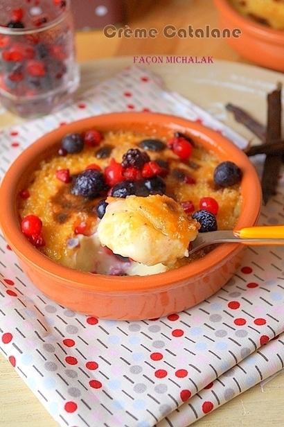 Crème catalane à la vanille inratable | Recettes Pour Ramadan 2016 | Scoop.it