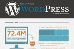 How Many People Use Wordpress: Statistics, Percentages, and Comparisons - BrandonGaille.com | Social Media Art  | a revolutionary new art form | Scoop.it