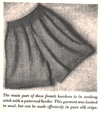 Grandmother's Pattern Book » Knit a pair of Ladies Knickers | Needle and Hook Patterns-all free | Scoop.it