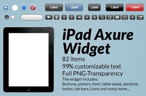 kreativr Blog – iPad Axure Widget Library | IA-UX | Scoop.it