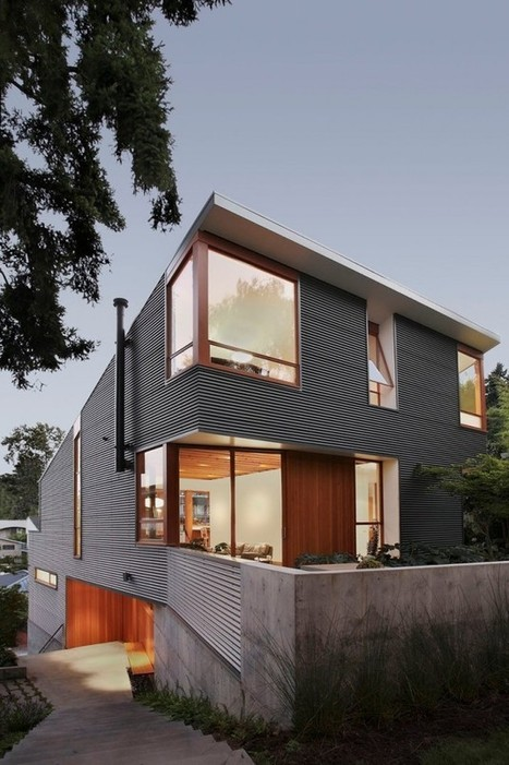 Main Street House by SHED Architecture & Design | sustainable architecture | Scoop.it
