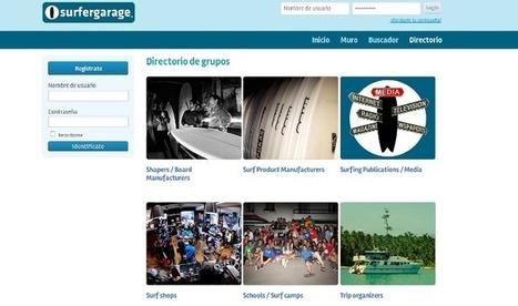 ¿Qué es Surfergarage? La red social para surferos | tecnología redes sociales y dispositivos mobile | Scoop.it