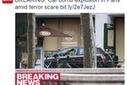 Quand la presse anglaise invente une alerte à la bombe à Paris | La vie des médias | Scoop.it