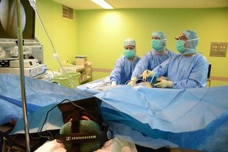 Usando Oculus Rift para calmar a pacientes en el quirófano   Salud Publica   Scoop.it
