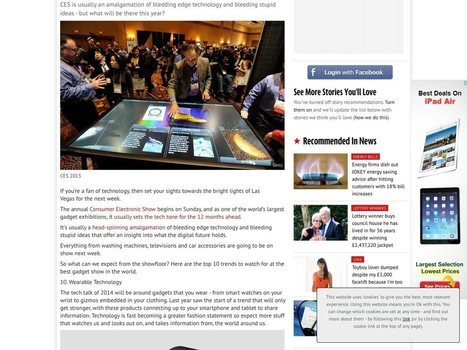 CES 2014: Top 10 trends to expect from the biggest technology and gadget ... | Augmented Reality for Advertisers | Scoop.it