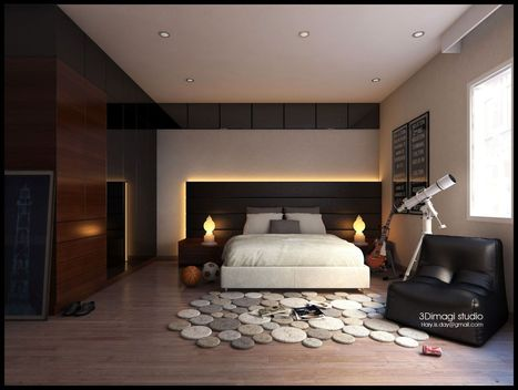 Masculine Cool Boy Room Design | Architecture and interiors i love | Scoop.it