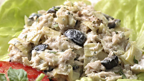 Artichoke and Ripe-Olive Tuna Salad - Recipe of the Day | Cooking | Scoop.it