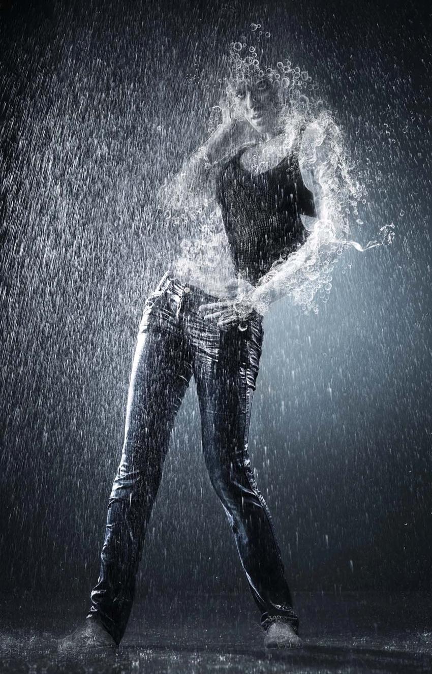 Как сделать вшопе человека из воды