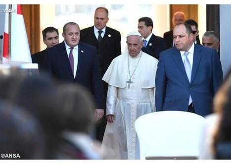 Príhovor pápeža Františka politickej a spoločenskej elite v Gruzínsku | Správy Výveska | Scoop.it