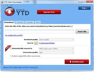 YTD Video Downloader and Converter | TELT | Scoop.it