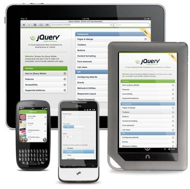 jQuery Mobile | jQuery Mobile | JQuery-Features | Scoop.it