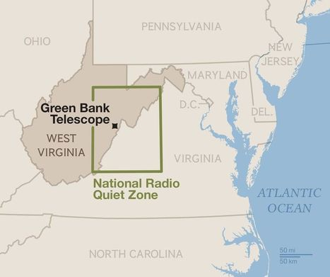 Life in the Quiet Zone: West Virginia Town Avoids Electronics for Science - National Geographic | Science | Scoop.it