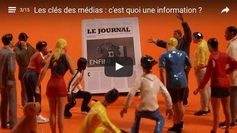 Les Clés des médias : une web-série pour comprendre le fonctionnement des médias | Education-andrah | Scoop.it