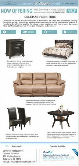 Coleman Furniture Online Store | Furniture | Scoop.it