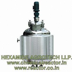 Jacketted Reactor Manufacturer in India – Hexamide Agrotech LLP | SS 316 ,304 CHEMICAL REACTOR MFG INDIA | Scoop.it