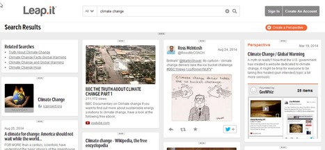 Leap.it - A New Visual Search Engine | Zentrum für multimediales Lehren und Lernen (LLZ) | Scoop.it