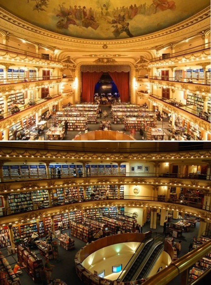 10 Awesome Bookstores Repurposed from Unused Structures | Consumption Junction | Scoop.it